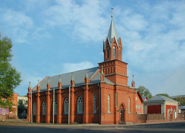 Евангелическо-лютеранская церковь св марии (пермь)